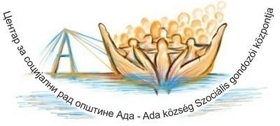 Центар за социјални рад општине ада  – Ada község Szociális gondozói központja Logo